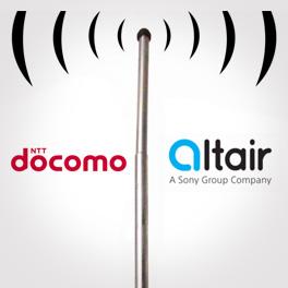 Docomo and Altair logo