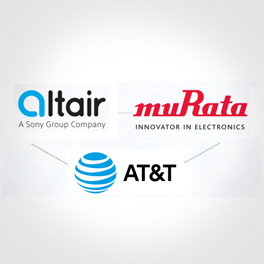 Altair, Murata and AT&T logo
